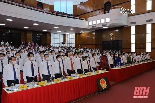 Khai mạc trọng thể Kỳ họp thứ hai, HĐND tỉnh Thanh Hóa khóa XVIII